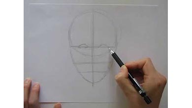 Photo of آموزش نقاشی چهره و جا گذاری اعضای صورت