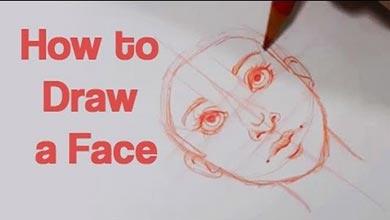Photo of نقاشی حالت های مختلف چهره