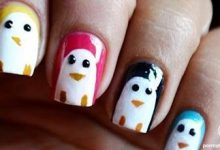 Photo of طراحی پنگوئن های رنگی روی ناخن