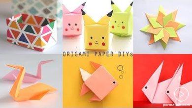 Photo of شش مدل کاردستی کاغذی به روش اوریگامی