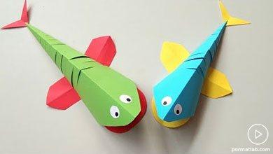 Photo of چگونه ماهی های کاغذی اوریگامی بسازیم؟
