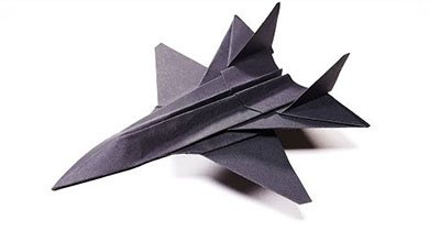 Photo of کاردستی هواپیمای جنگده کاغذی