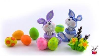 Photo of با خمیر پلیمری خرگوش های بانی بسازید