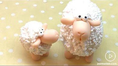 Photo of چگونه عروسک گوسفند با خمیر فیمو بسازیم؟