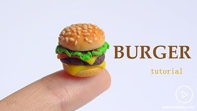Photo of درست کردن همبرگر با خیمرهای رنگی فیمو