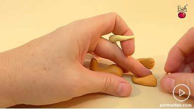 Photo of با خمیر شیر نر با یالهای قهوه ای بسازید