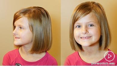 Photo of آموزش کوتاه کردن موی دختربچه در خانه