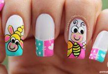 Photo of دیزاین ناخن با زنبورهای فانتزی خندان