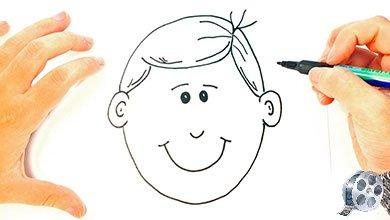 Photo of کشیدن چهره یک پسر کوچولو