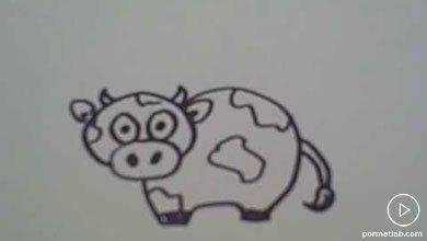 Photo of نقاشی گاو تپل برای کودکان
