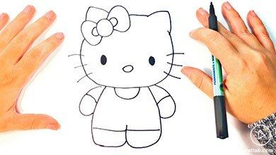 Photo of نقاشی گربه کیتی برای کودکان
