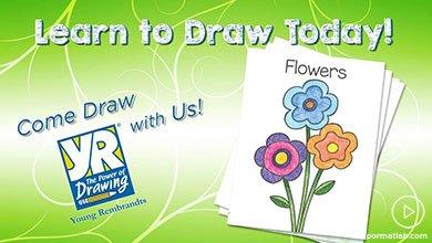 Photo of نقاشی گل های ساده بهاری برای کودکان