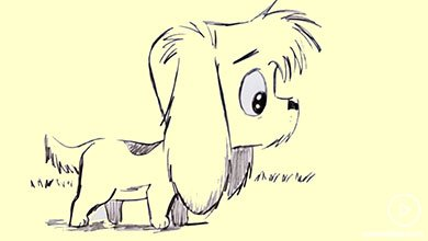 Photo of نقاشی مرحله به مرحله سگ کارتونی