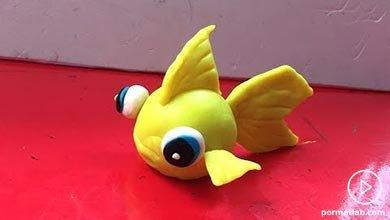 Photo of آموزش ساختن ماهی زرد خمیری