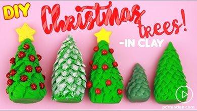 Photo of درخت کریسمس خمیری بسازید