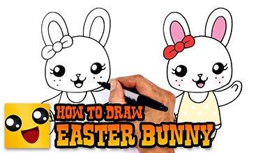 Photo of نقاشی خرگوش کوچولو با سبد