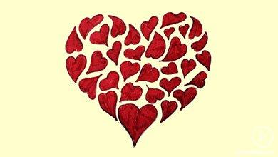 Photo of نقاشی کشیدن قلب زیبا