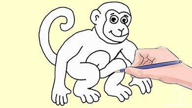 Photo of آموزش مرحله به مرحله نقاشی میمون