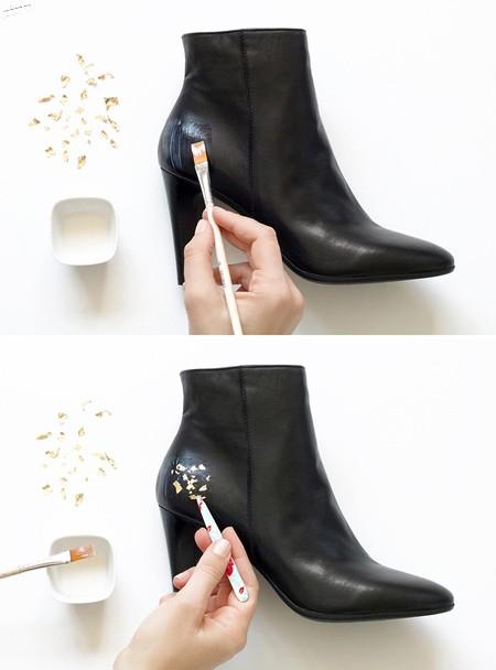 نحوه تغییر ظاهر کفش, تکنیک های تغییر ظاهر کفش