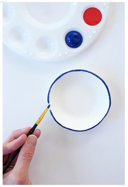 نقاشی روی ظروف,نحوه نقاشی روی ظروف