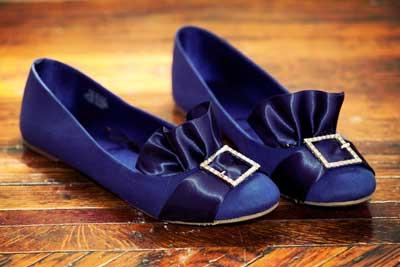 تزیین کفش با کمترین هزینه توسط روبان