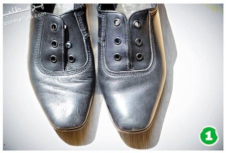 تغییر ظاهر کفش های ساده,آموزش تغییر ظاهر کفش های ساده