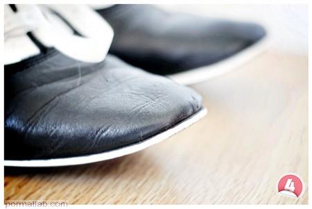 تغییر شکل کفش های ساده, تغییر شکل کفش های قدیمی
