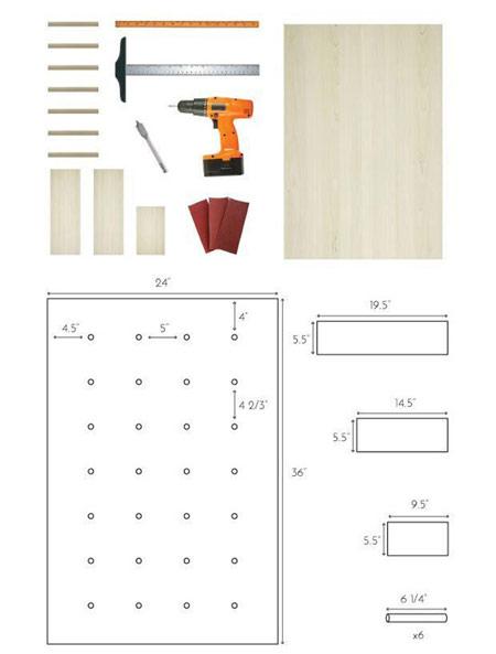 آموزش ساخت طاقچه چوبی کاربردی