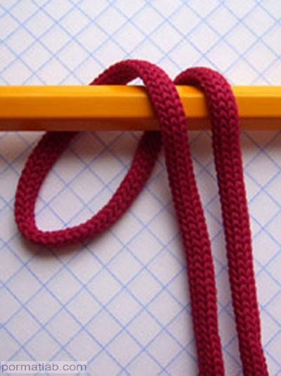 چند نوع گره ابتدایی طناب بافی یا مکرومه بافی